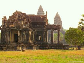 Photo: #019-Angkor Vat. Site classé au Patrimoine mondial de l'Unesco.