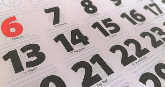 Los festivos: el calendario laboral en Almería para lo que queda de año y 2022