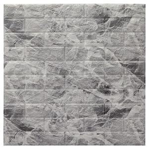 Tapet autoadeziv Marble, 77 x 70 cm, spuma moale 3D