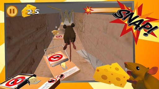 Snappy Mouse Run - Dizzy Running apktram screenshots 1