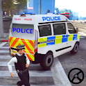 Police Van Offroad Simulator- Police Game 2020 icon