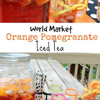 Orange Pomegranate Iced Tea