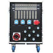 24way Dimmer Rack - 125A In rear
