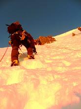 Photo: Decidimos hacer la ascensión al col en ensamble.