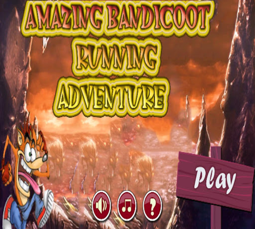 Amazing Bandicoot Running