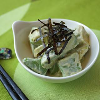 Avocado Salad with Wasabi Dressing Re