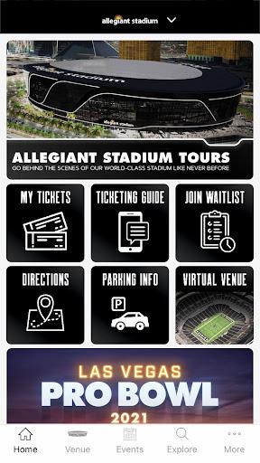 Raiders + Allegiant Stadium screenshot 3