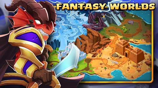 Tiny Gladiators 2: Heroes Duels – RPG Battle Arena Apk Download For Android and Iphone 5