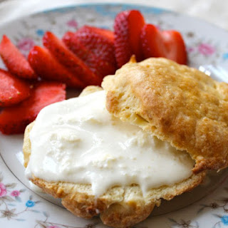 Clotted Cream and English Scones
