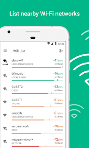 WiFiman: Find nearby WiFi APs and run speed test (MOD, No-Ads) v1.5.2 1