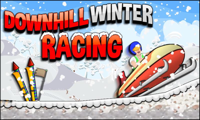 Скриншот Downhill Winter Racing