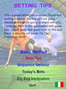 betting method - náhled