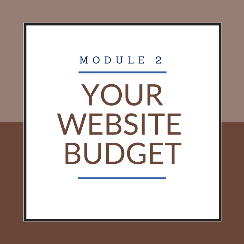 Module 2: Your Website Budget