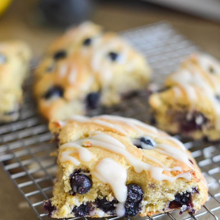 How To - The BEST Gluten Free Blueberry Scones
