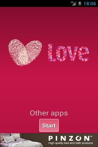 Love Fingerprint Scanner