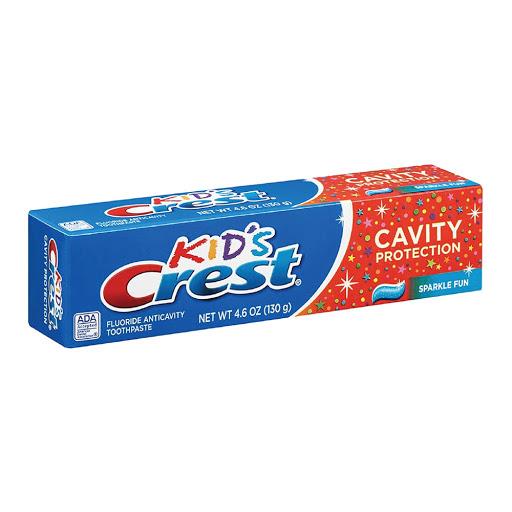 Crema Dental Crest Kids 130 Grs  Cavity Protection