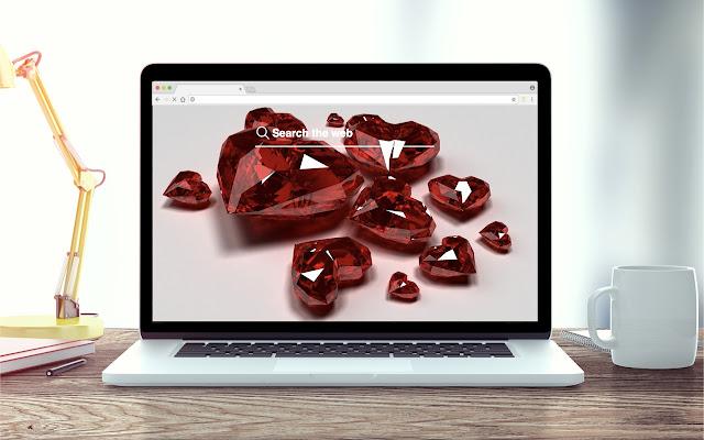 Ruby New Tab Stone Theme