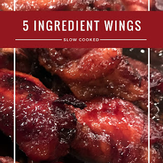 5 Ingredient Chicken Wings.