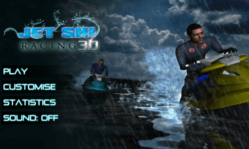 Jet Ski racer water game