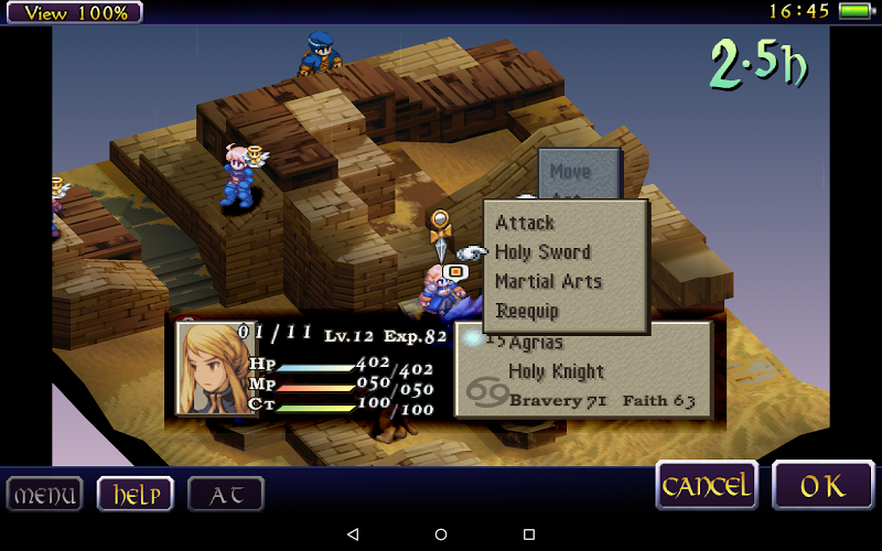 FINAL FANTASY TACTICS : WotL Hack Apk v1.0.0 Mega Mod - screenshot