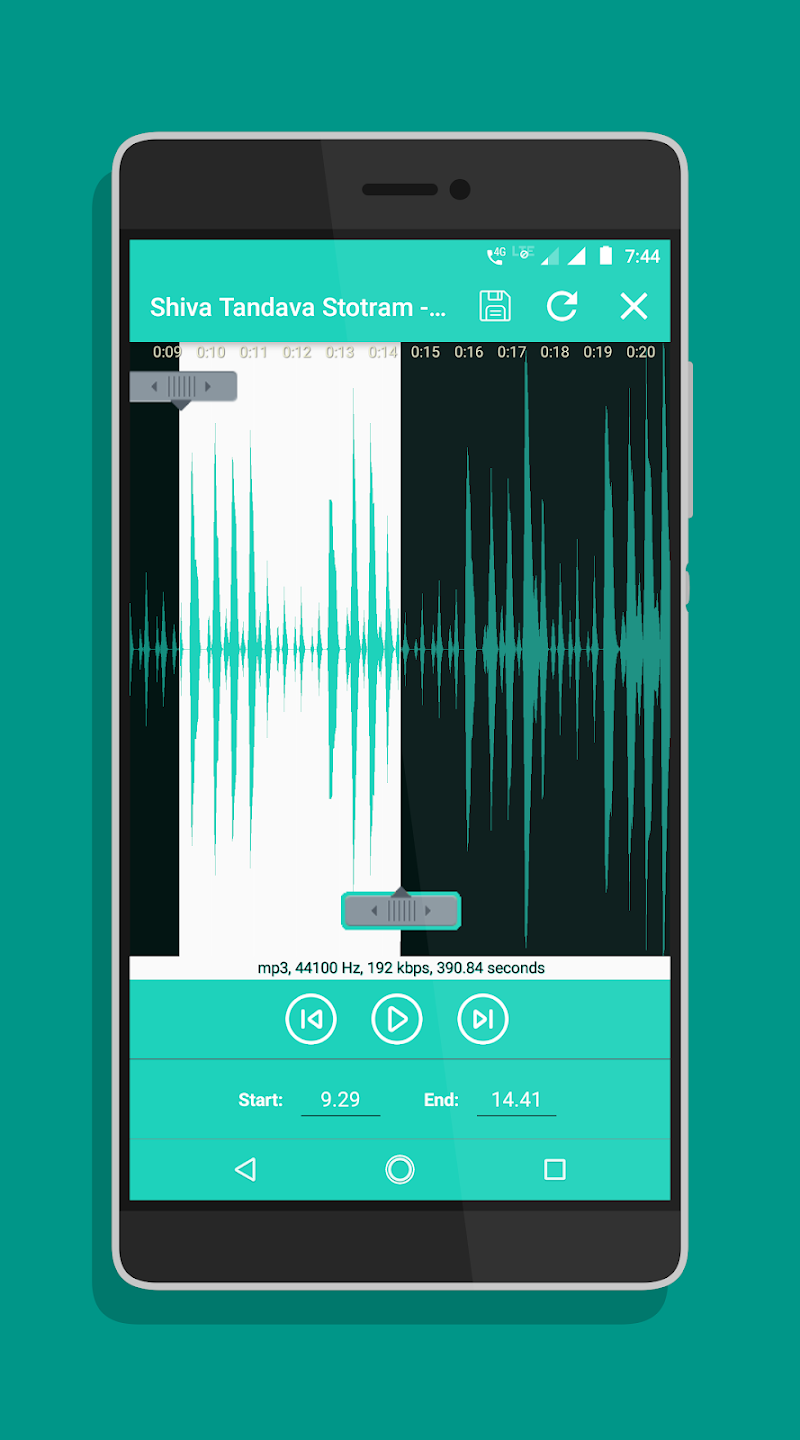 Ringtone Maker - Mp3 Cutter Screenshot 18