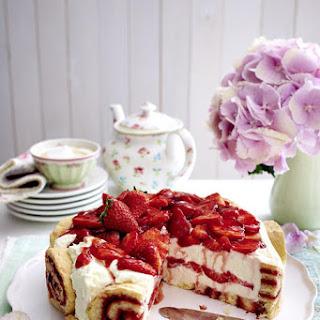 Charlotte Royale (Swiss Roll Cake).