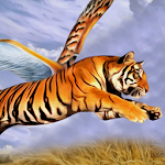 Angry Flying Tiger Wild Simulator 3D Icon