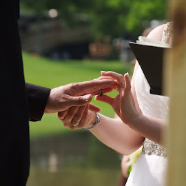 Ring Exchange by Brenda Shoemake - Wedding Ceremony