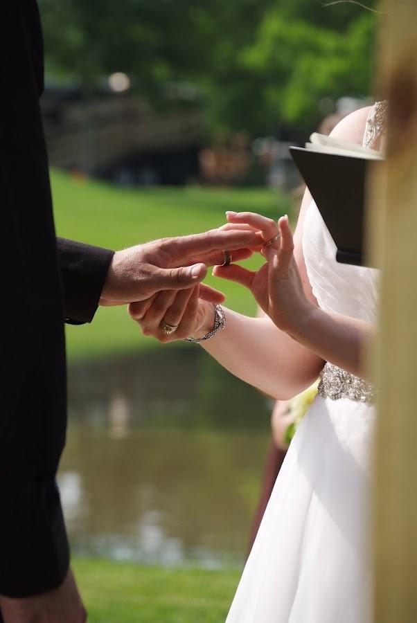 Ring Exchange by Brenda Shoemake - Wedding Ceremony