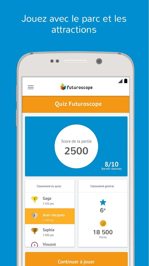 Futuroscope- screenshot