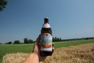 Photo: Na stacji paliw dostaję oczopląsów na widok zawartości chłodziarki ! W sakwach ląduje 8 piw ;)