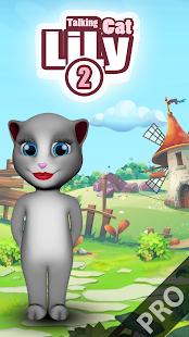 Talking Cat Lily 2 Pro - náhled