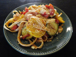 Fettuccine Chicken & Tomato Dinner Recipe