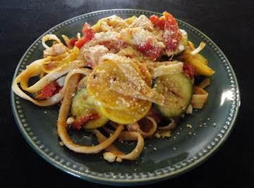 Fettuccine Chicken & Tomato Dinner