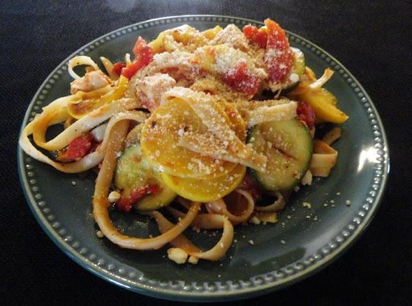 Fettuccine Chicken & Tomato Dinner Recipe