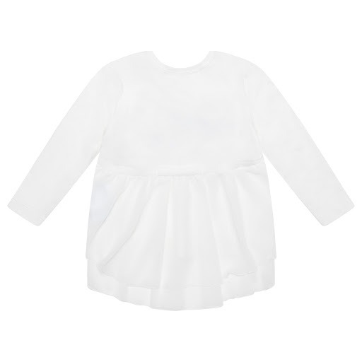 Thumbnail images of Monnalisa Cotton & Chiffon Top