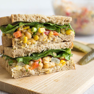 Make Lunch Exciting With Make-Ahead Chickpea Salad Sandwiches