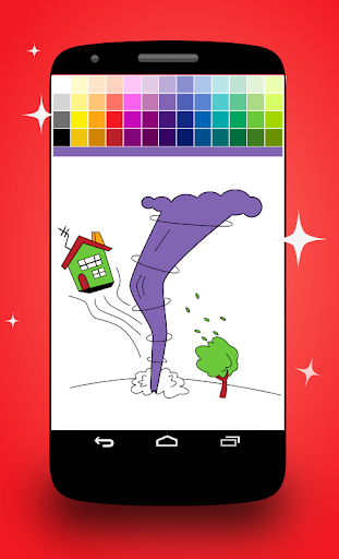 Twister Coloring Pages screenshot 4