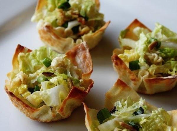 Asian Salad Cups Recipe