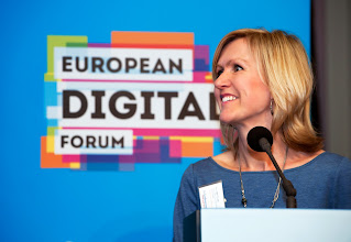 Photo: Ann Mettler, executive director of the Lisbon Council and European Digital Forum