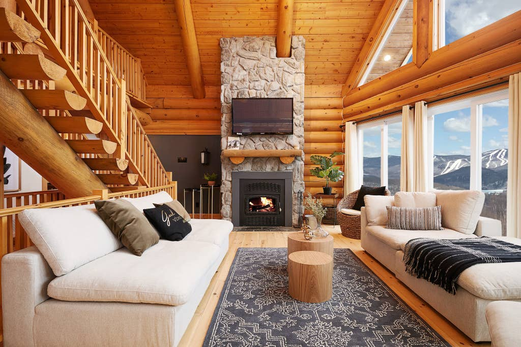 #2 listing of Cottages for rent in the Laurentians of Quebec on WeChalet