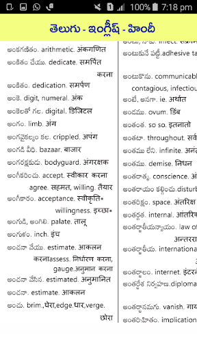 Download Telugu English Hind Dictionary on PC & Mac with