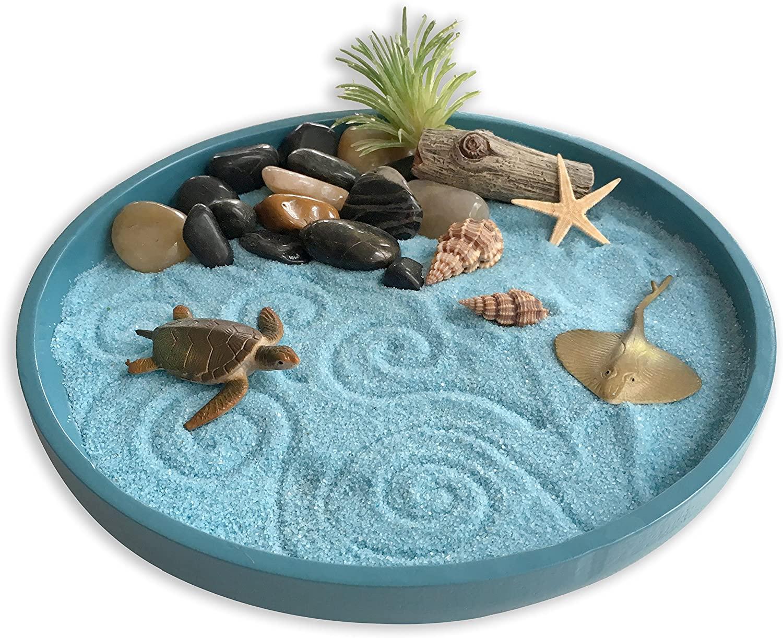 jardin zen en miniatura marino