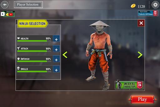 Super Ninja Kungfu Knight Samurai Shadow Battle  screenshots 13