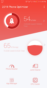 2019 Phone Optimizer - Cleaner Booster App Manager Screenshot