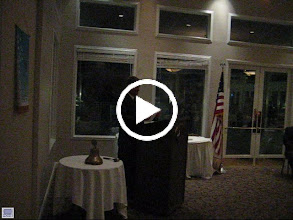 Video: Inauguration Address by President Eric Sanders on June 8, 2012 at the Debary Golf & Country Club. Eric presented the PAST PRESIDENT AWARD to Rev. Dennis Robinson. - June 8, 2012