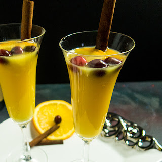 Orange Cinnamon Mimosa.