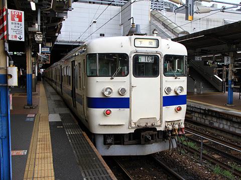 JR九州 415系(小倉→下関)
