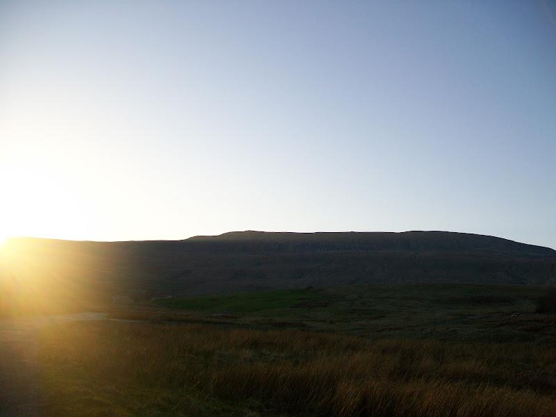 Photo: Sunset on Whernside.