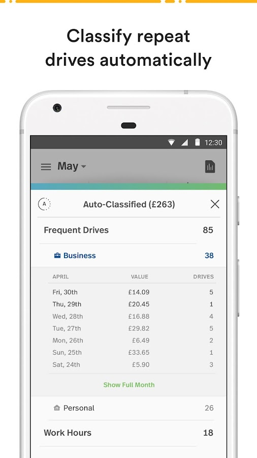 tracking mileage for business